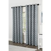 Found it at Wayfair - Baroque Textured Linen Look Jacquard  Window Curtain Panelsn $48.99