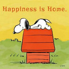 Happiness is home