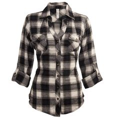 Flannel Plaid Shirt from Warehouse One