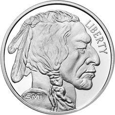 .999 Fine Silver 1 Troy Oz Liberty Walking Round SMI Bought From APMEX