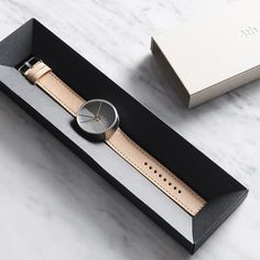 MollaSpace is raising funds for Dimension Watch - A watch that connects time and space on Kickstarter! A concrete watch inspired by the simple complexity of time and space, and our fascination with contemporary architecture and design. Design Studio, Design Blog, Life Design, Cartier, Daniel Wellington, Jewelry Packaging, Paper Packaging, Watch Sale, Bracelets