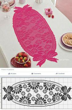 Filet Crochet Charts, Crochet Tablecloth, Doilies, About Me Blog, Crochet Hats, Knitting, Vsco, Rugs, Straight Stitch