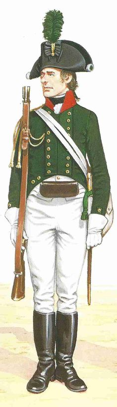 Private Prussian Jaeger Regiment 1806