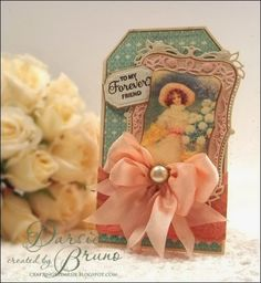 Darise Bruno: Crafting with Darsie: Forever Friend ... - 1/30/14.  _Spellbinders: Majestic Labels 8, Labels 38, Petite Lace, Labels 8).