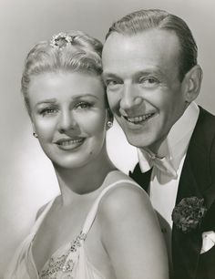 Fred Astaire & Ginger Rogers. One of the greatest couples ever in Hollywood.