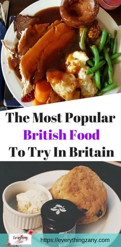 The Most Popular British Food To Try in Britain  Here is the most popular British food that you should try here in the UK.Most people will describe British food as bland and stodgy. Alright, I'm not selling it to you, right!Over the past few years living here in the UK, I've managed to adapt and acquired the taste of actually liking the traditional British food. There were some occasions that I crave for good 'ole British pub food.