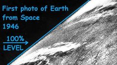 "First Ever Photo From ""Space"" Shows Flat Earth"