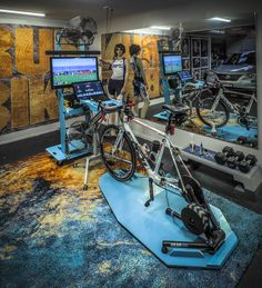 Indoor cycling, cycle pain cave