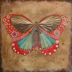 Leslie Barron Art - Be Impressed Butterfly Images, Butterfly Art, Frog Illustration, Happy Pictures, Insect Art, Colorful Artwork, Colorful Animals, Doodle Designs, Beautiful Butterflies