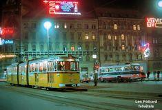 Ilyen is volt Budapest - Blaha Lujza tér Old Photos, Vintage Photos, Budapest City, Commercial Vehicle, Neon Lighting, Poland, Arch, Marvel, History