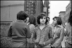 Pina, Phylis, JoJo and Lisa, NYC, 1978  Susan Meiselas