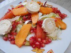 ENSALADA DE OTOÑO Os comparto una de las ensaladas de temporada que más me gustan, la ensalada de otoño. Direis ¿y que la hace de otoño?… Pues 2 ingredientes fundamentales el kaki(o caqui)y la granada... Read More