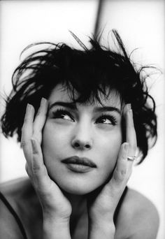 Monica Bellucci by Chico Bialas for Vanity Fair, 1996