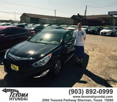 https://flic.kr/p/FrbyZY | Happy Anniversary to Paul on your #Hyundai #Sonata Hybrid from Ric Metcalf at Texoma Hyundai! | deliverymaxx.com/DealerReviews.aspx?DealerCode=L967