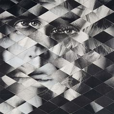 Creative Collage, Geometric, and Mask image ideas & inspiration on Designspiration Art Lessons, Design, Art Photography, Visual, Photo Collage, Collage, Art, Geometric, Abstract