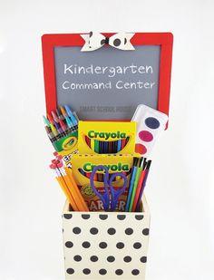 DIY Kindergarten Command Center with SmartSchoolHouse.com