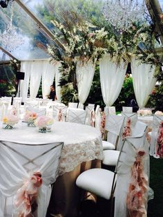Ceiling treatment and florals for wedding in Kahala Oahu