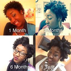 Today Marks One Year! I'm So Happy & Excited To See More Growth :D Natural Hair Twa, Natural Afro Hairstyles, Natural Hair Growth, Natural Hair Journey, Natural Life, Black Hair Inspiration, Natural Hair Inspiration, Hair Growth Treatment, Natural Hair Styles For Black Women