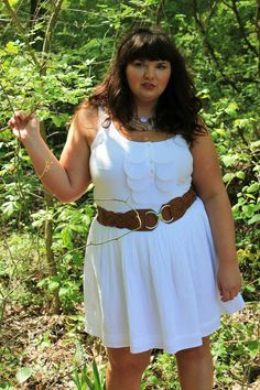 Hems for Her Trendy Plus Size Fashion for Women: Spring Breaking the Rules- Wearing White