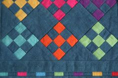You have to see Quilting in the Ditch by Susan Cleveland!