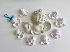 Scented plaster angels.