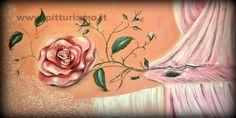 quadro realizzato dal pittore contemporaneo ANGELAIMPAGLIAZZO - in rosa