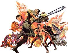 "theactioneer: "" Frank McCarthy poster art for Dark of the Sun (1968) """