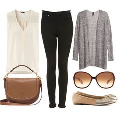 Casually cute. #Style