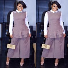 Welcome to Oghenemaga Otewu's Blog: Rita Dominic steps out in style for a Lagos Fashio...