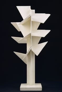 Maquette for Arbre Cubiste (Cubist Tree), 1925  Jan Martel (French, 1896–1966); Joël Martel (French, 1896–1966)  Painted wood