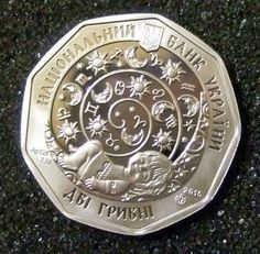 2 SILVER Ukraine hryvnia in 2015. Zodiac signs. Dedicated to children who are born under this sign of the zodiac. Edge - smooth. weight of the precious metal - 7.78. | eBay!