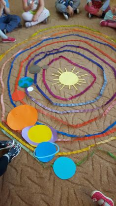 Sonnensystem / Weltraum, If you're an beam of light amateur, as well as Planets Preschool, Space Preschool, Space Activities, Preschool Science, Science For Kids, Kindergarten Activities, Science Activities, Preschool Activities, Easy Science