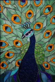 Peacock     #mosaic
