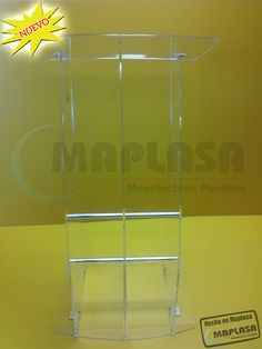Pódium de Acrílico Especializado http://www.maplasa.com/productos/podiums/VentadePodiumsdeAcrilico.php