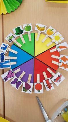 Baby Art Activities, Preschool Learning Activities, Color Activities, Toddler Preschool, Children Activities, Preschool Behavior, Lego Activities, Fitness Activities, Kids Learning