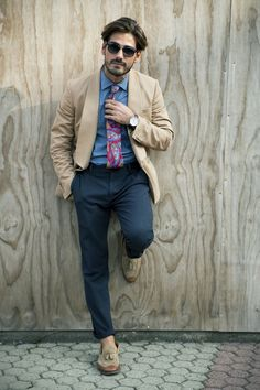 suitsandthecityft:  Giotto Calendoli is wearing all menswear...