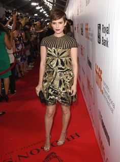 """Actress Kate Mara attends """"The Martian"""" premiere during the 2015 Toronto International Film Festival at Roy Thomson Hall on September 11, 2015 in Toronto, Canada."""