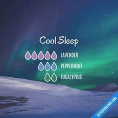 Cool Sleep - Essential Oil Diffuser Blend #aromatherapysleepdiffuser #essentialoil #essentialoils by lenora