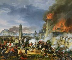 Charles Thevenin - The Attack and Taking of Ratisbon, 23rd April 1809, 1810