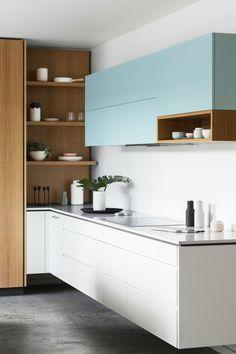 Komfort a jednoduchosť: 17 krásnych kuchýň