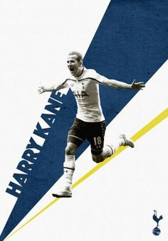 Harry Kane Tottenham Hotspur poster via Behance Football Ads, Football Design, Best Sports Quotes, Tottenham Hotspur Football, Sports Graphic Design, Soccer Poster, Sports Graphics, Sports Wallpapers, Portrait