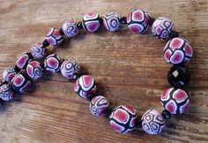 Handmade necklace polymer clay shades of by creazionifillagioie