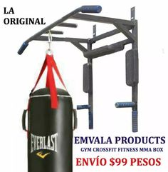 promoción! barra dominadas 5 - 1 multi gym abs trx mma box