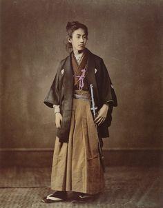 Felice Beato: Samurai - Giovane nobile di Sazuma