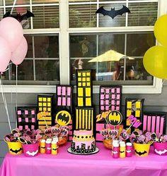 Batgirl Birthday Theme