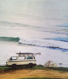 Overdue for a surf trip