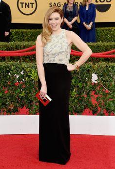 Pin for Later: Wir nehmen euch mit auf den roten Teppich der SAG Awards! Natasha Lyonne