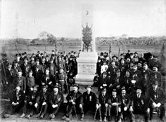 On Oct. 10, 1888, 45th New York veterans gathered for the dedication of their monument just north of Gettysburg, where they were overwhelmed 25 years earlier. Many in the all-German regiment were captured on July 1, 1863 and sent to prisoner-of-war camps in the South, including the most notorious one of all at Andersonville, Ga.