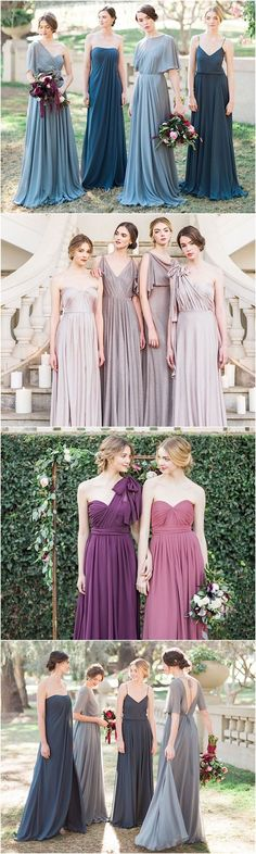 Gorgeous bridesmaid dresses by Jenny Yoo