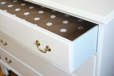 urbane jane.: refinished antique dresser - it's all in the details!